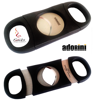 Adorini Cigarcutter Double Blade Black, Ring 23,8 mm.
