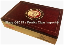 Cigarkasse - Indian Motorcycle Maduro Gordo (25,00 x 17,80 x 5,50)